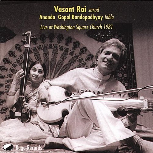 Vasant Rai on Sarod Live at Washington Square Church with Ananda Gopal Bandopadhyay on Tabla
