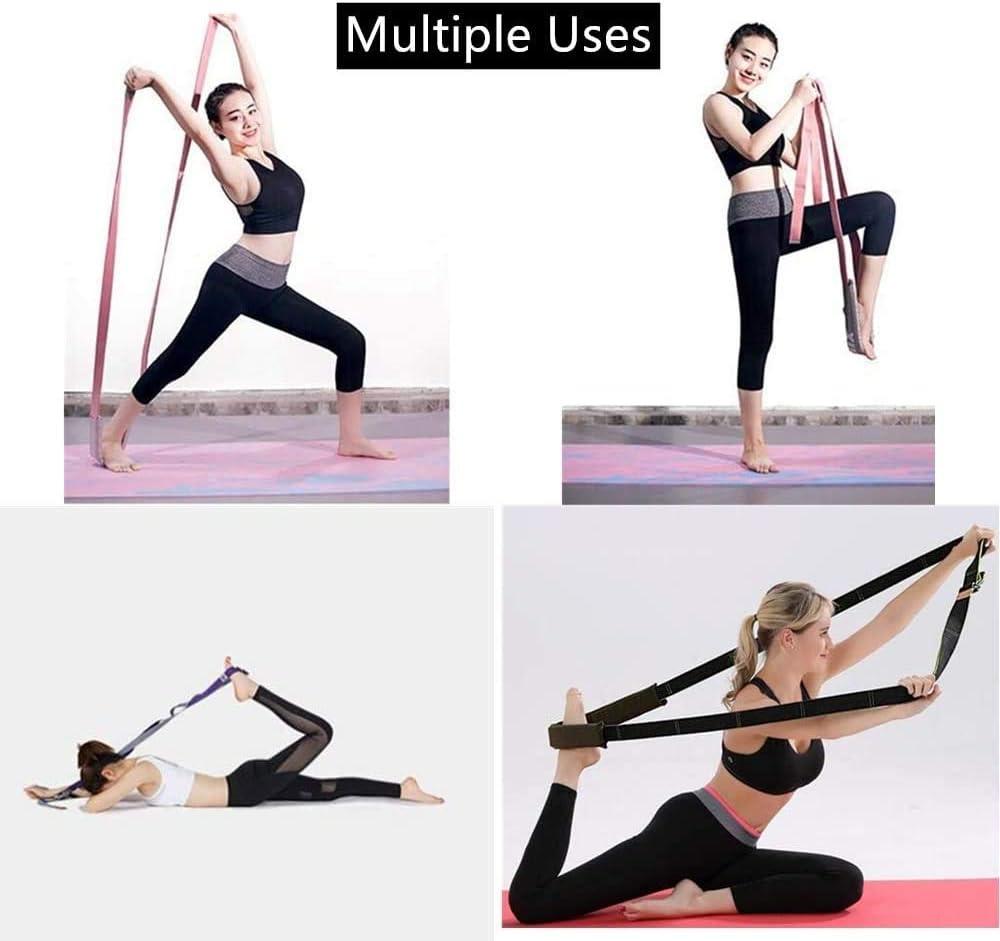 le Taekwondo Wuudi Bande /élastique pour les jambes la danse typ1 le Pilates et le yoga la gymnastique