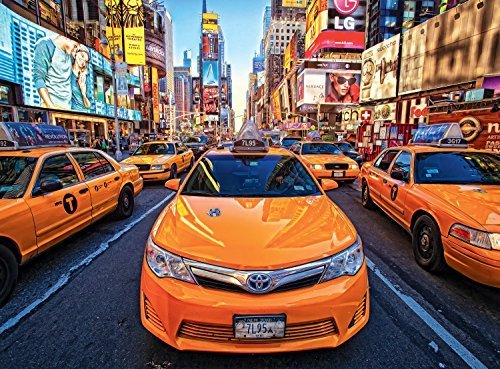 Buffalo Games Signature  Taxis in Times Square - 1000 Piece Jigsaw Puzzle by Buffalo Games by Buffalo Games