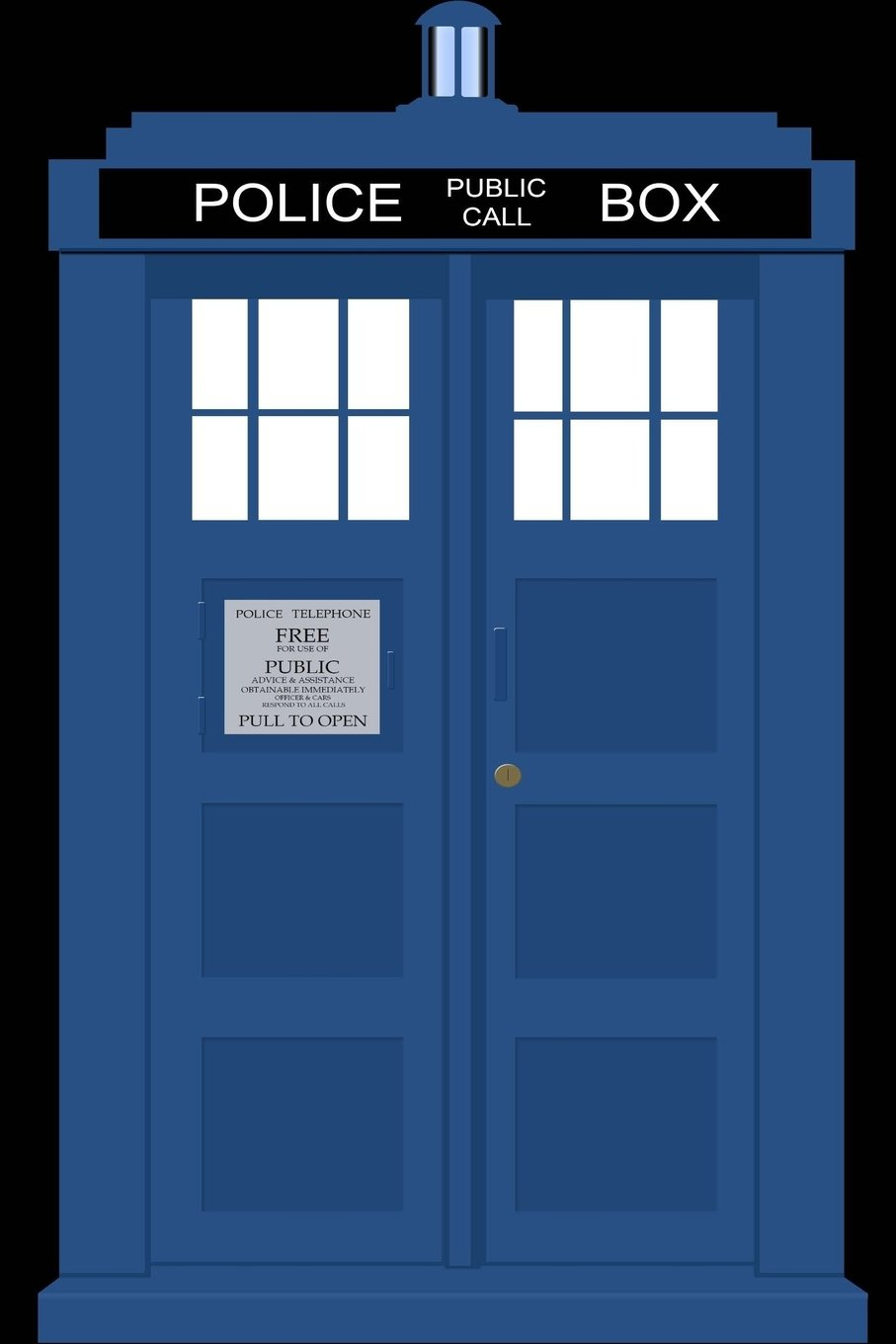 Download Notebook: Police Box - Bespoke, personalised notebook. Contact us if you would like your own image and name on a notebook or diary pdf