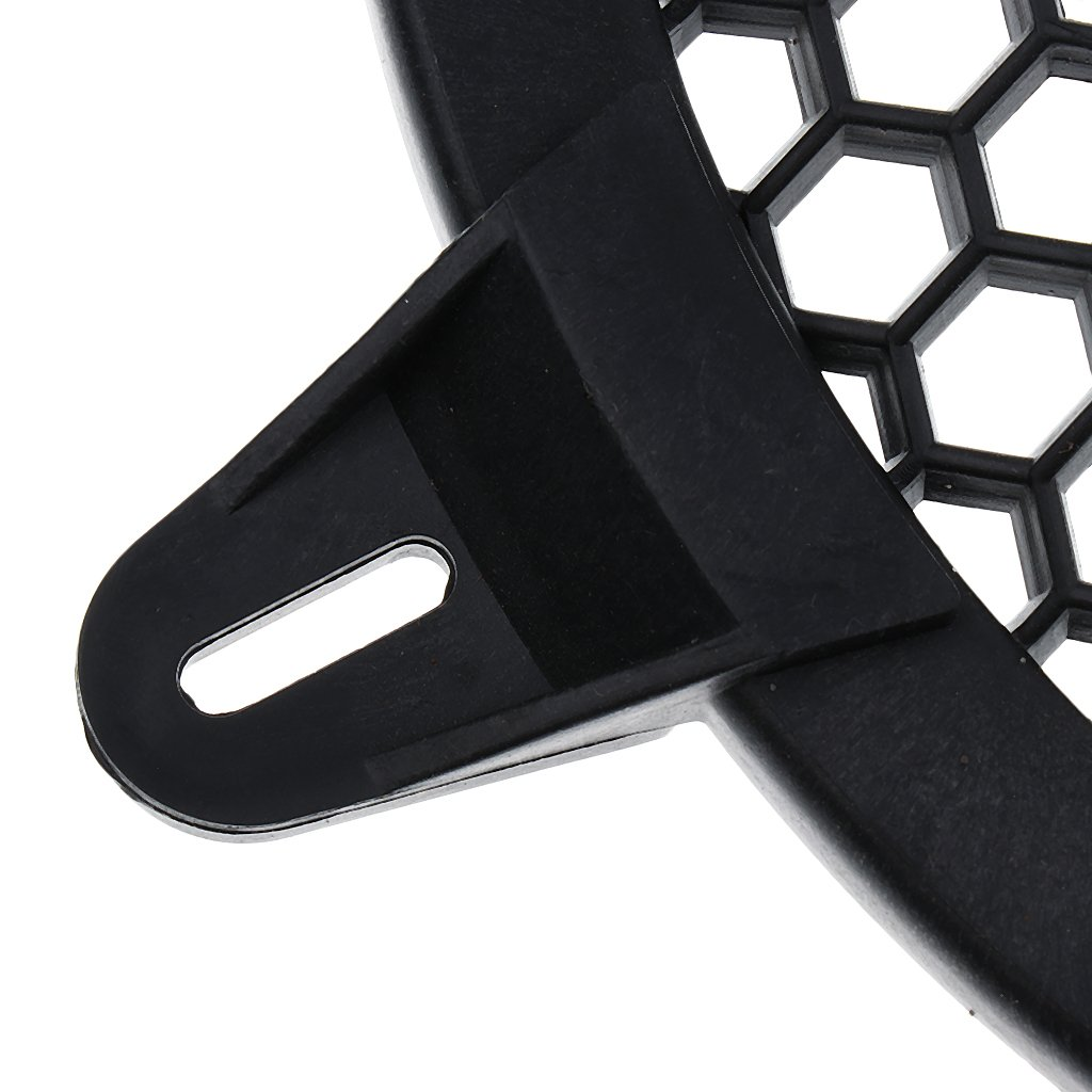 MagiDeal Parrilla de Subwoofer Altavoz Amplificador Proteger para Coche Negro 8