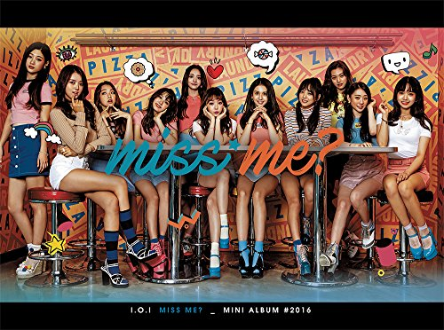 (Stone Music Entertainment I.O.I IOI - Miss Me? (2nd Mini Album) [Reissue] CD+Photobook+Photocard+Reissue ver. Folded Poster)