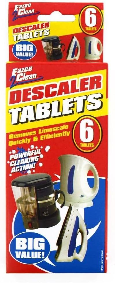 6 x pastillas de limpieza cafetera eléctrica hierro ...
