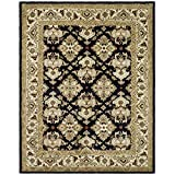 Safavieh Heritage Collection HG817A Handcrafted Traditional Oriental Black and Ivory Wool Area Rug (8'3″ x 11′) Review