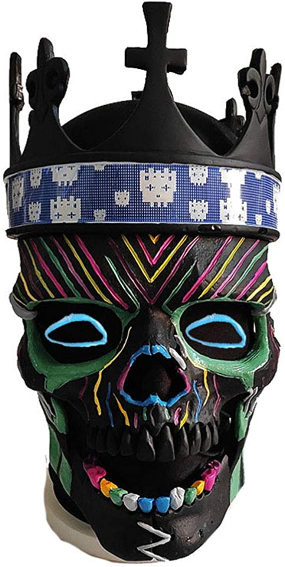 Amazon Com Watch Dogs Legion Collector S Edition Ded Coronet Mask Skull Mask Black Clothing