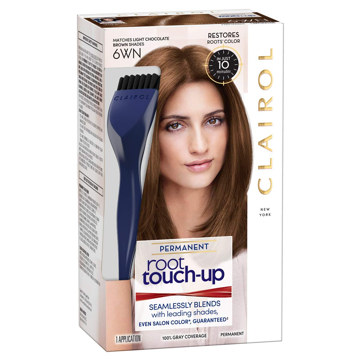 Amazon Clairol Nice N Easy Root Touch Up 6wn Light Chocolate