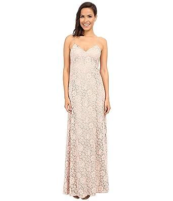 0e05a4cbe78 Amazon.com  Donna Morgan Women s Gia - Spaghetti-Strap Slip Dress  Clothing