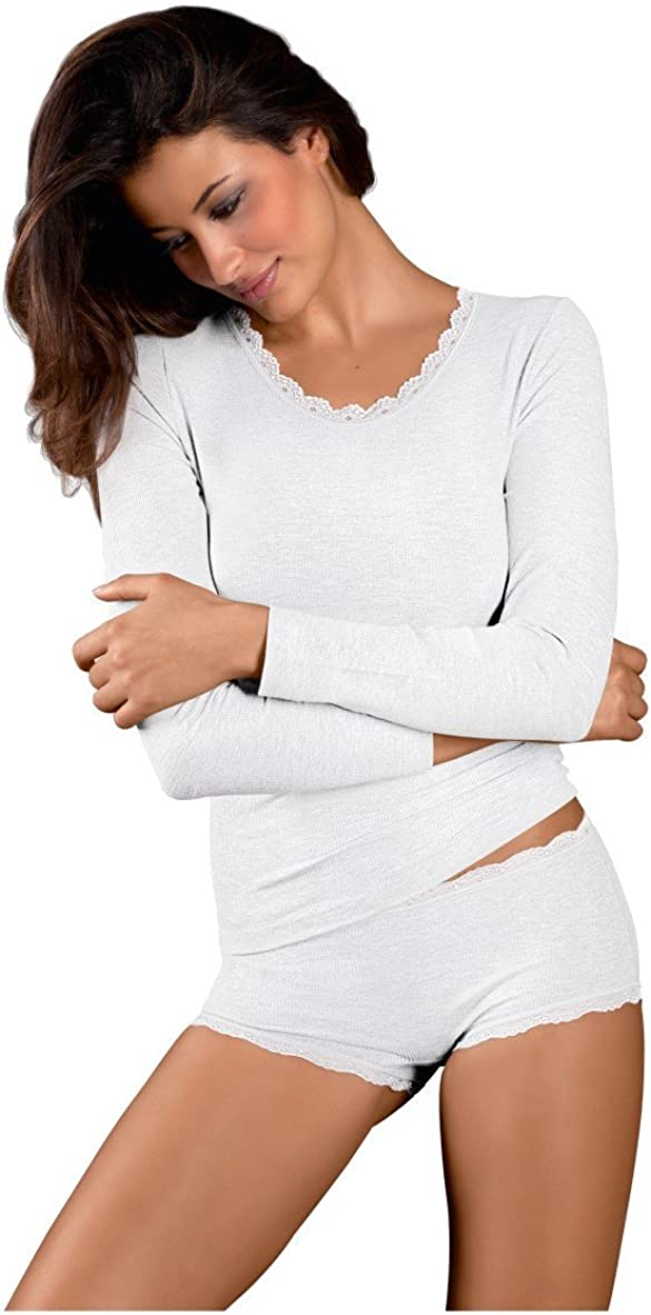 Nina von C Body /& Soul Damen Shirt Langarm
