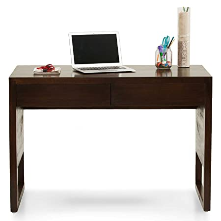 Barcelona Study Table - Walnut