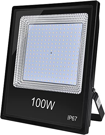 Foco led exterior 100W proyector, IP67 impermeable,LED Reflector ...