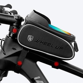 Bolsa impermeable para bicicleta,Bike Frame Bag, Waterproof ...