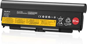 RayHom T440P 9Cell 57++ Replacement Battery - for Lenovo ThinkPad T440P T540P W540 W541 L440 L540 Series Laptop 45N1152 45N1153 45N1162 45N1163 45N1145 45N1147 45N1149 0C52864 0C52863 11.1V 8960mAh