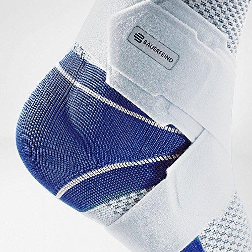 Bauerfeind MalleoTrain Plus Ankle Support - Titanium (Left,4) by Bauerfeind (Image #1)