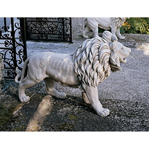 (Design Toscano Regal Lion Sentinel of Grisham Manor Statue)