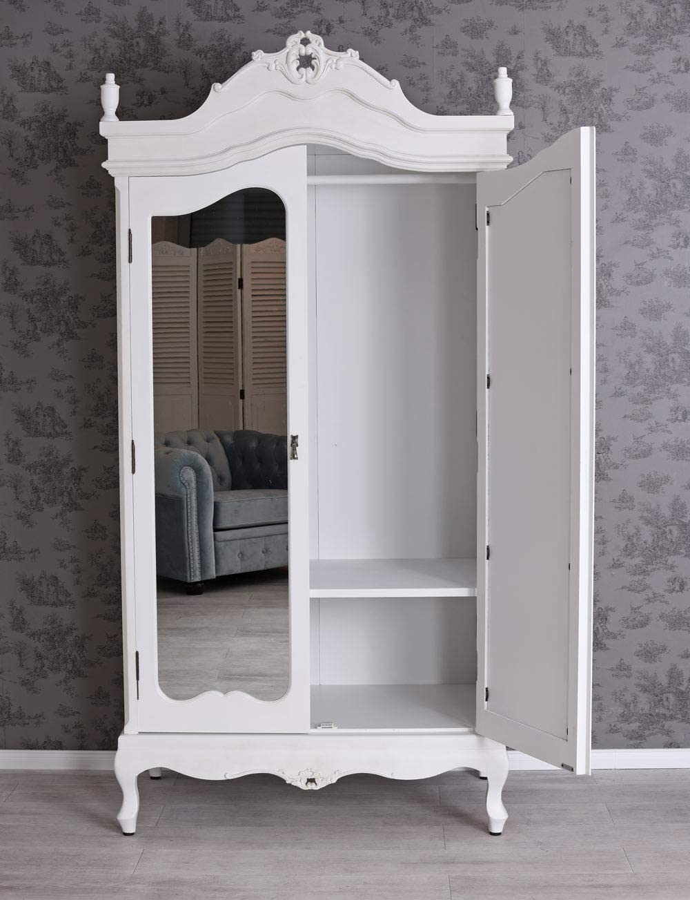 Vintage Wardrobe Shabby Chic Cupboard Antique Style Palazzo
