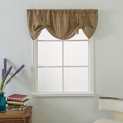Gaddrt® - 1 mantovana per finestra, extra larga e corta, per cucina,  soggiorno, bagno F