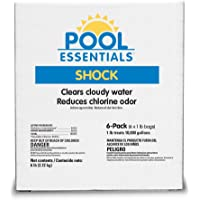 Pool Essentials 25506ESS Shock Treatment, 1-Pound (Pack of 6)