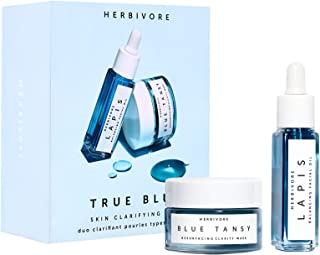 product image for Herbivore Botanicals - True Blue Mini Skin Clarifying Duo