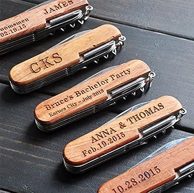 Personalized Pocket Knife, Custom Knife, Custom Multi-tool Knives, Engraved Names, Groomsmen Gift, Gift for Him