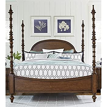 Paula Deen Home Dogwood California King Poster Bed In Low Tide