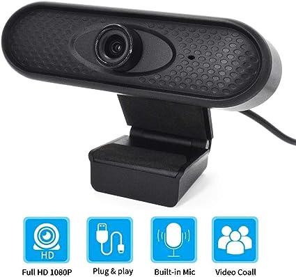 Eagle Smart Cámara web normal HD 1080P con micrófono de enfoque manual cámara para PC MAC de escritorio portátil TV Xbox cumple con las necesidades básicas: Amazon.es: Electrónica