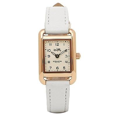 0f5a4738ca [コーチ] 時計 COACH トンプソン THOMPSON レディース腕時計ウォッチ ブラウン 14502297 ホワイト [並行輸入