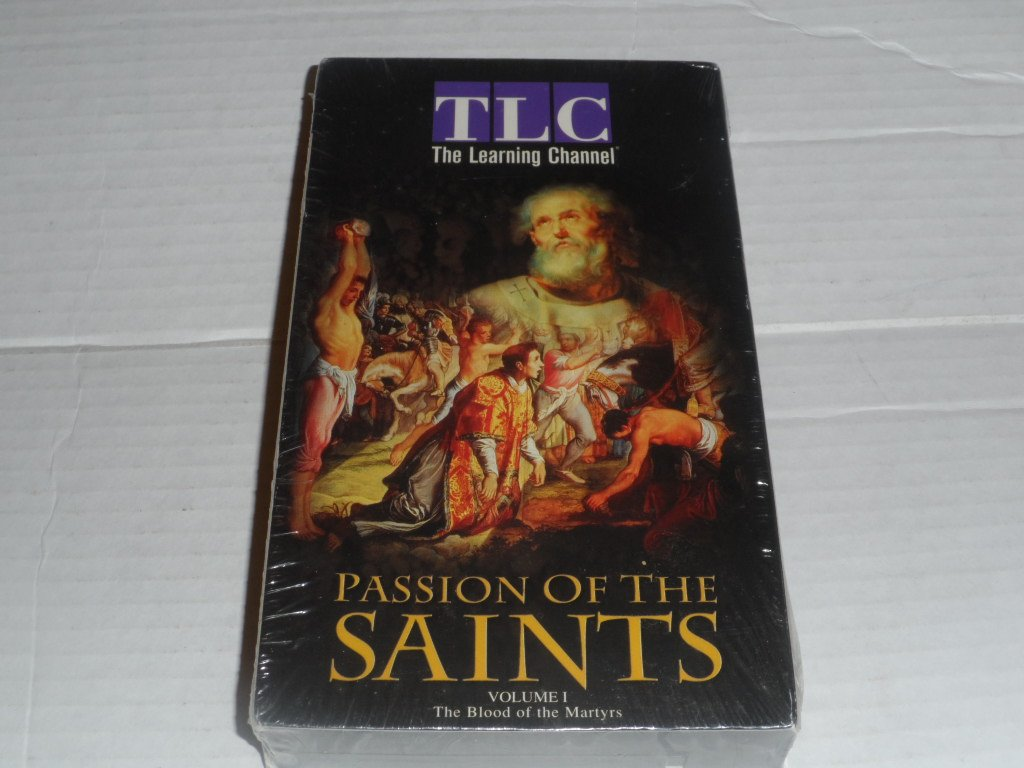 Passion of the Saints 1: Blood of Martyrs [VHS]
