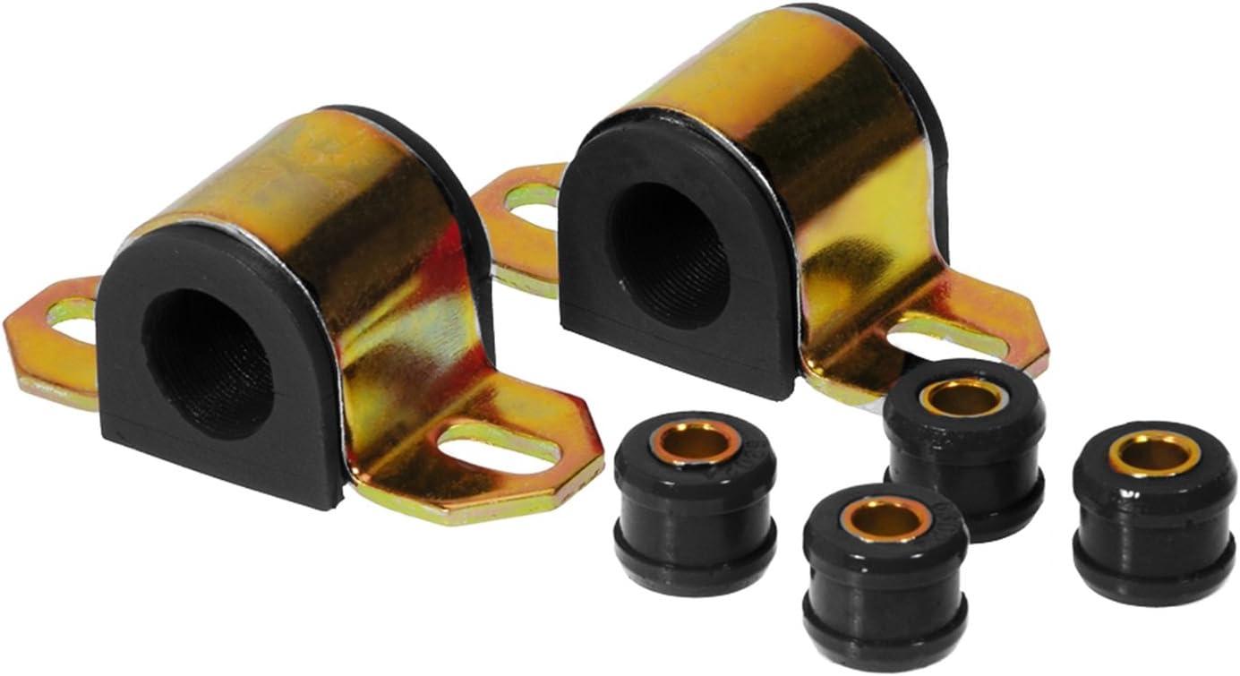 Prothane 7-1144-BL Black 24 mm Rear Sway Bar Bushing Kit