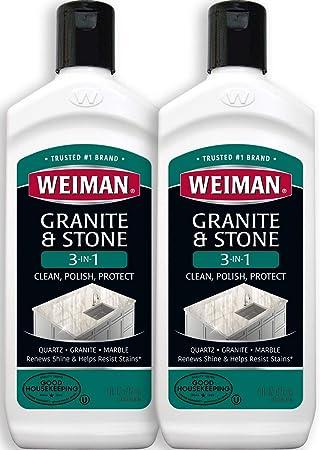 Amazon.com: Weiman granito limpiador y abrillantador – 8 oz ...