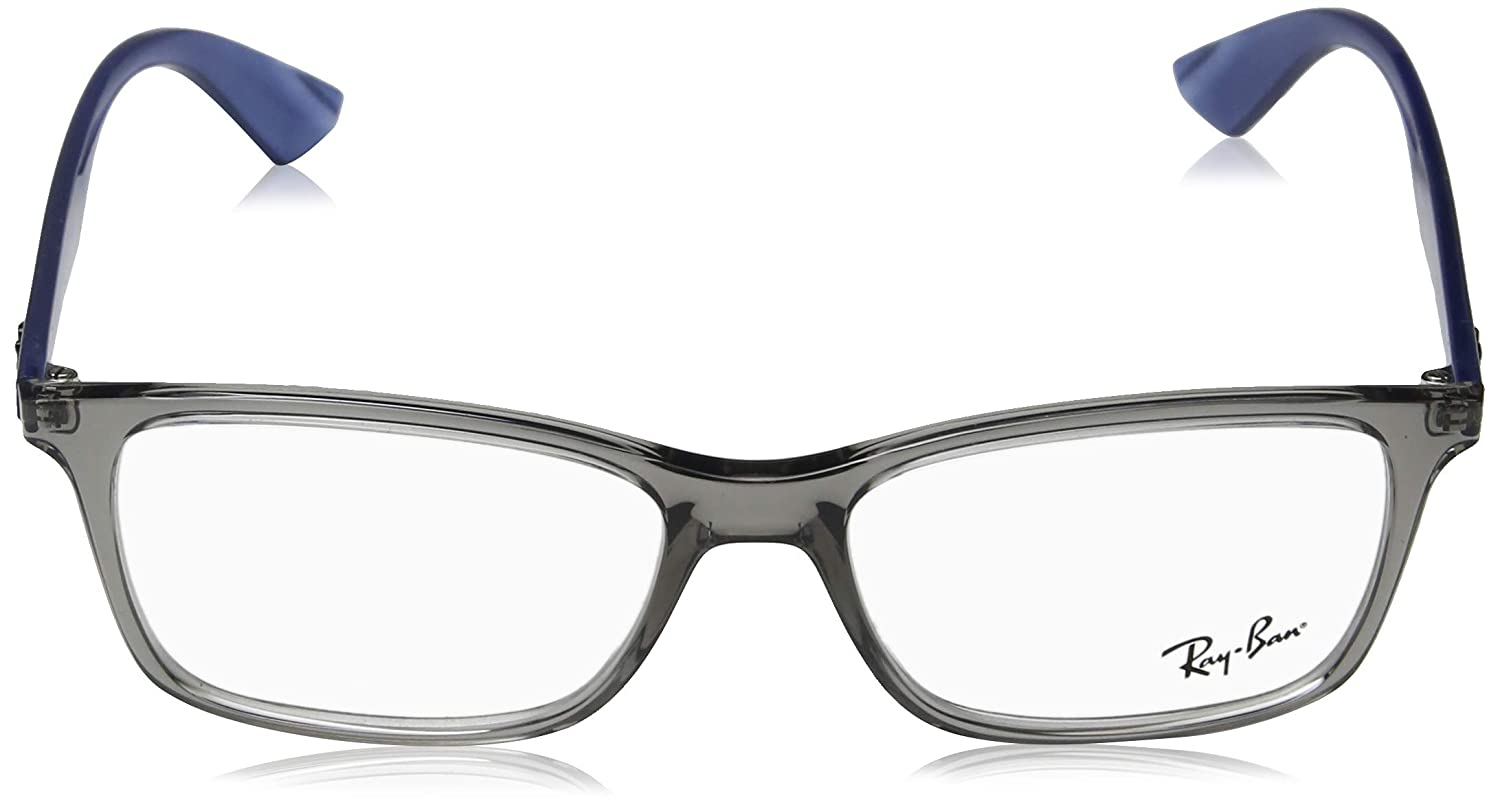 f236f3023a Amazon.com  Ray-Ban Men s RX7047 Eyeglasses Black 56mm  Clothing
