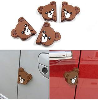 YMK Cute Bear Character Door Edge Guard//Protector 4 pcs