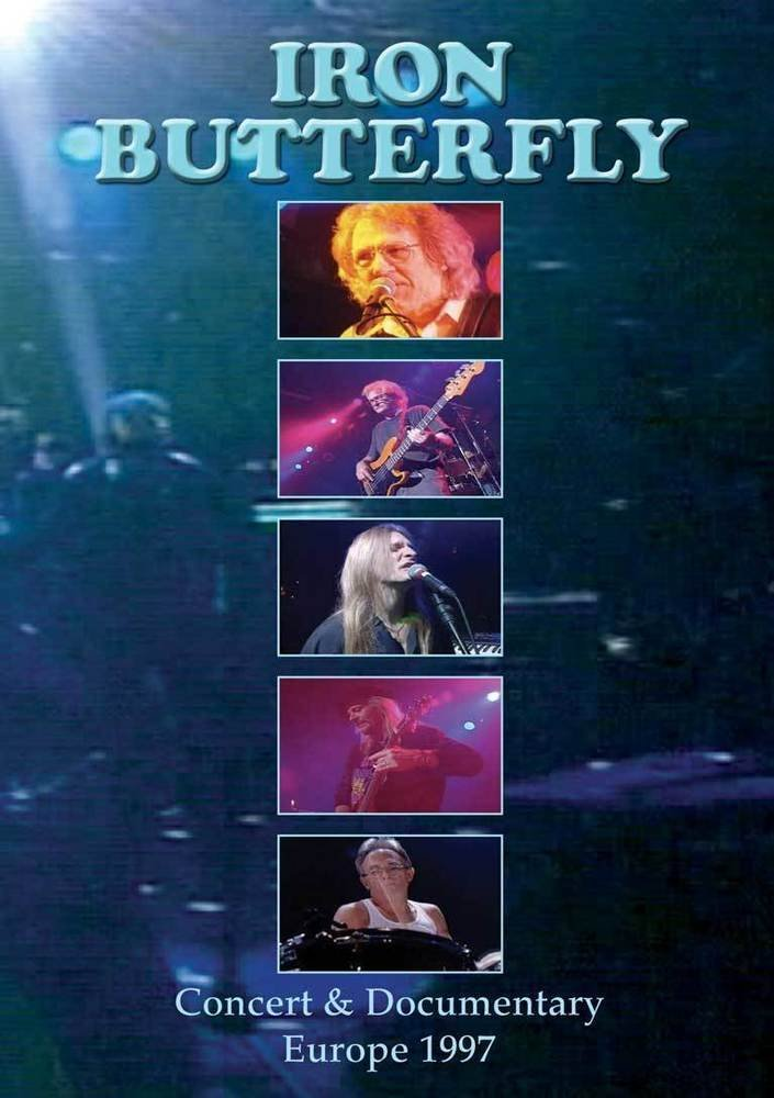 Iron Butterfly - Concert & Documentary Europe 1997 DVD ...