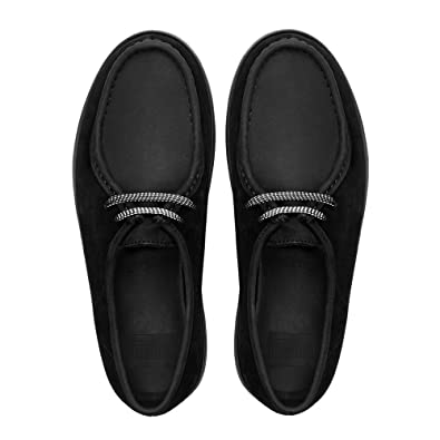 a82f3d8de Fitflop Loaff Lace-up Moc Shoes Black (Nubuck) UK5.5 Black (Nubuck ...