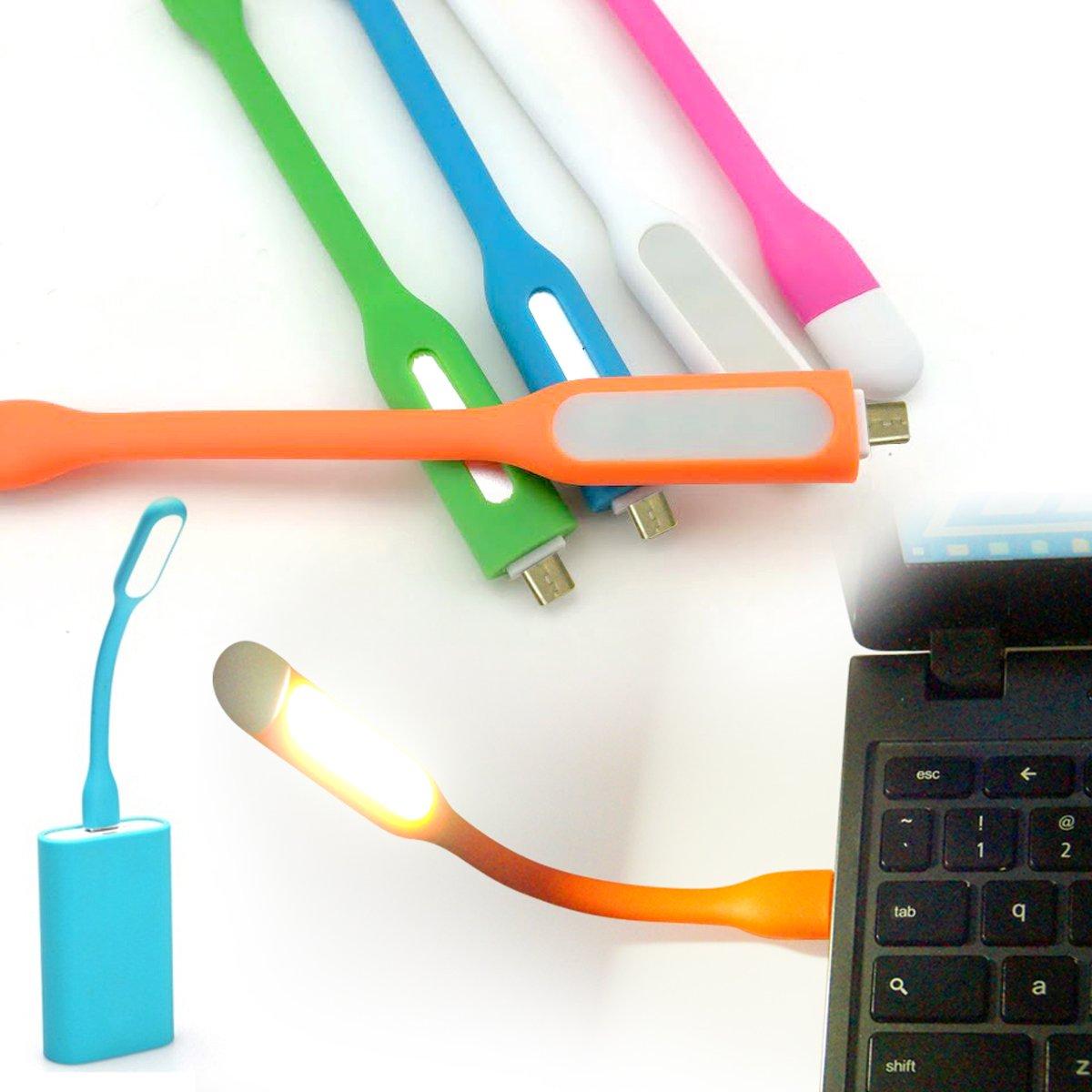 Amazon.com: AmaziPro8 2-in-1 Mini USB LED Light + Charge Sync ...