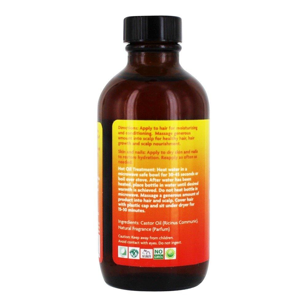 Island Twist - Aceite de ricino negro de Jamaica Papago Mango - 4 la ...