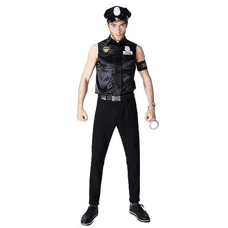 Traje de policía SWAT Uniforme - Conjunto Disfraces para ...