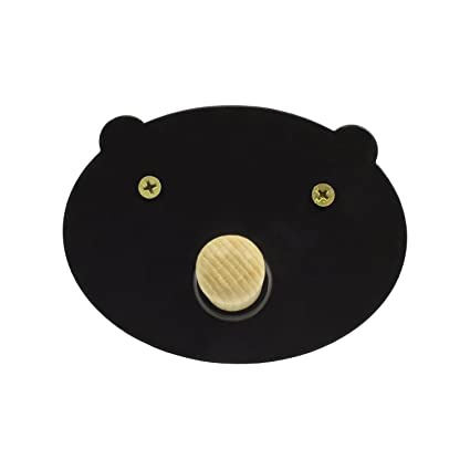 Perchero de Pared Pig - Perchero Infantil Cerdito (Negro ...