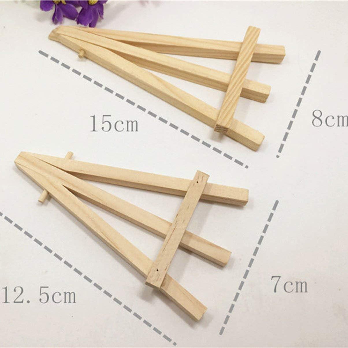Creative Petit Chevalet Mini triangle supportrnaments Grandes fournitures quotidiennes sant/é et beaut/é produits de soins personnels