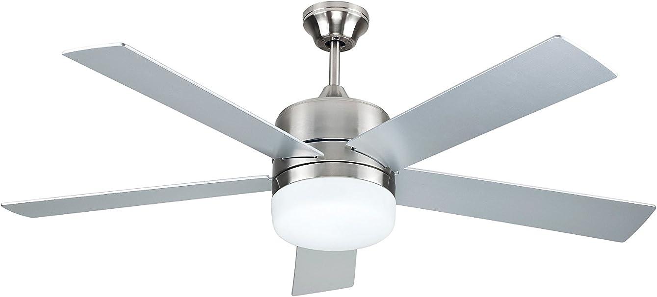 Sulion 075653 DENEL - Ventilador de techo con luz y mando a ...