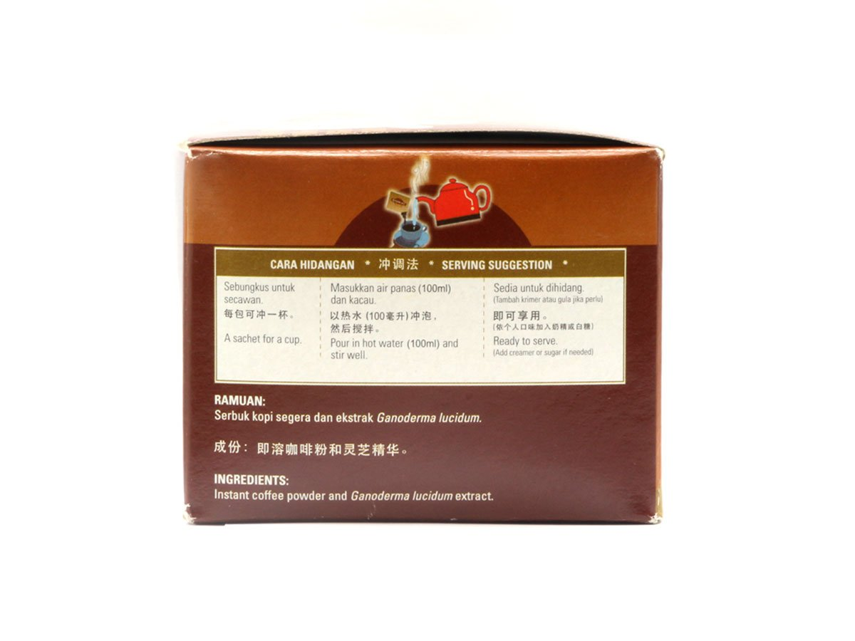 20 Boxes of Gano Café Classic Coffee 30 sachets/box, Instant Black Coffee Enriched with Ganoderma Lucidum Extract by Gano Café (Image #3)