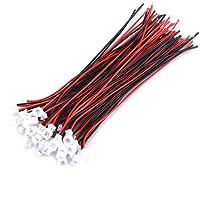 Conectores de Cables, Conector JST, 20 piezas Micro JST Conector 1.25MM Conector Macho…