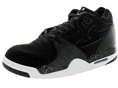 Nike Men's Air Flight 89, BLACK/WHITE-COOL GREY, ...