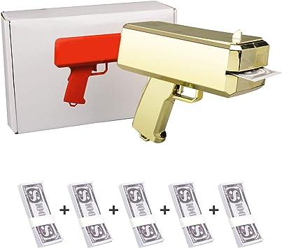 Pistola del Dinero del Aerosol Juega: Amazon.es: Juguetes y juegos