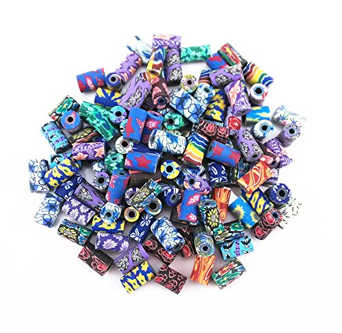 yueton 100pcs Assorted Colors Polymer