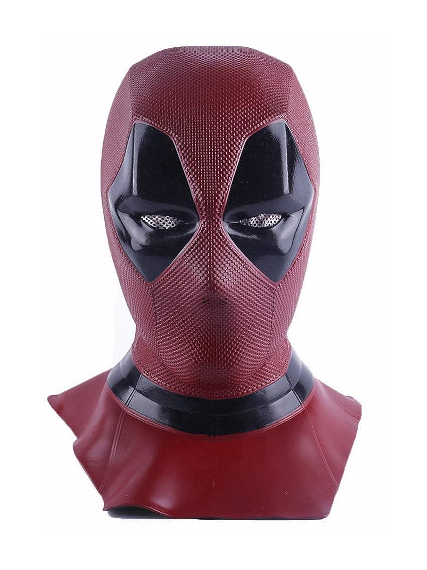 Yacn Deadpool mask Adult Fancy Dress,Deadpool Cosplay Costume for Men