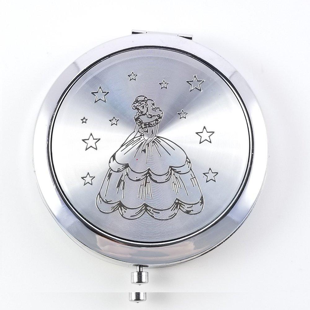 Sweet 15 Quinceanera  Compact Mirror Party Favors Recuerdos de quinceanera 12pcs