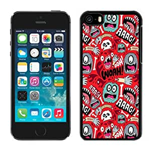 Fashionable Custom Designed Cover Case For iPhone 5C With Cute Monster Pattern Phone Case Cover