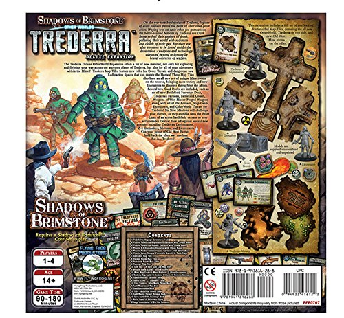 Gesellschaftsspiele Trederra Deluxe • OtherWorld Expansion Shadows of Brimstone