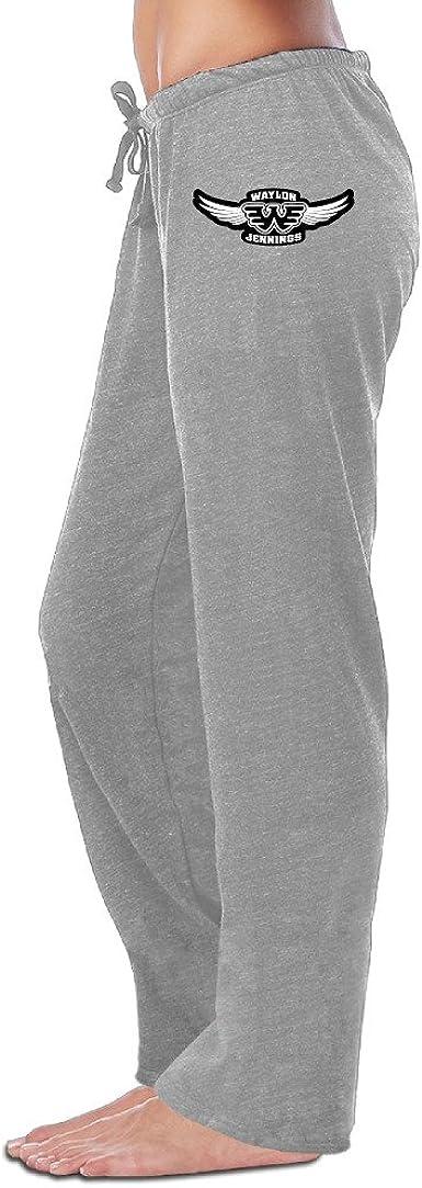 Amazon Com Sweatpants Mujer Waylon Jennings Alas Slim Pantalones Jogger Pants Clothing