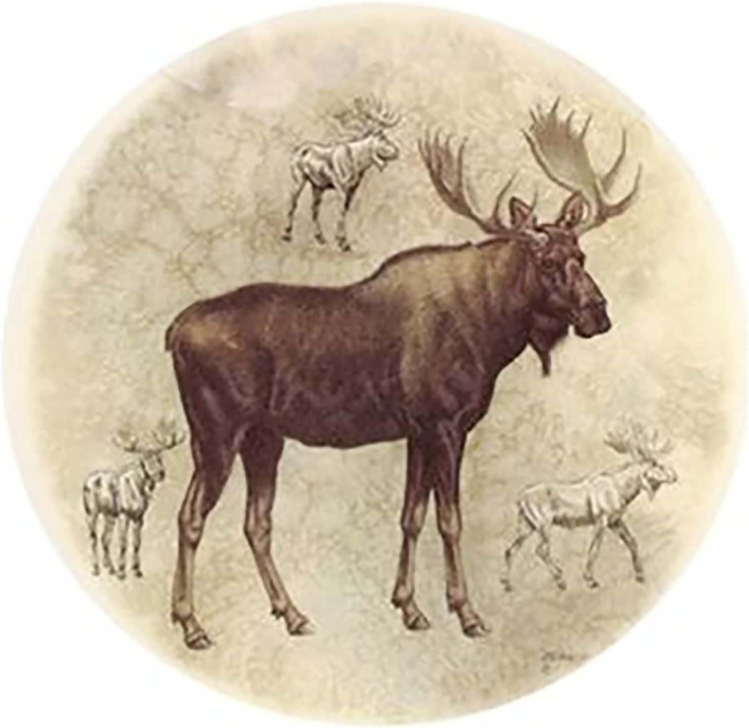 8 pcs 3 474 Round Wildlife Moose Ceramic Decals By The Sheet Select-A-Size